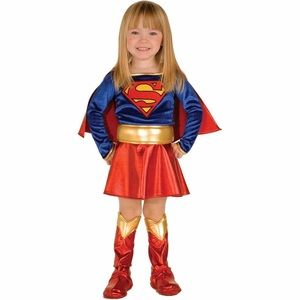 Supergirl Kids Costume-Med